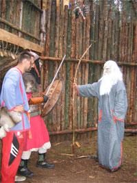 Ролевики. Игра «Герои 2006». Друид и варвары.