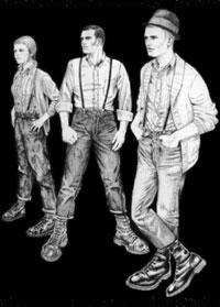 Скинхеды в Англии 60-х