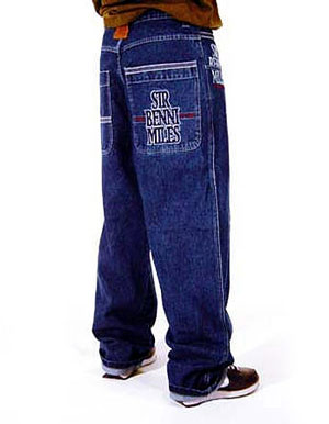 Рэперские штаны.