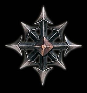 Звезда Хаоса из вселенной Warhammer
