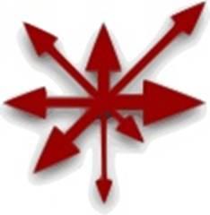 Асимметричный вариант символа хаоса, придуманный Майклом Муркоком