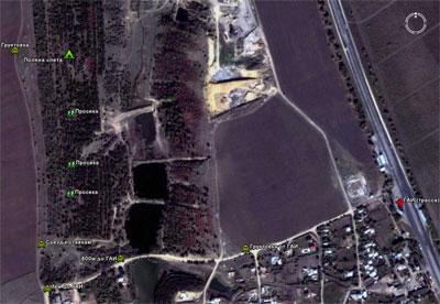 Подробно о месте расположения слета (спутниковый снимок)